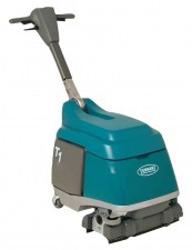 Tennant T1 Battery Floor Scrubber 15 Inch_burned